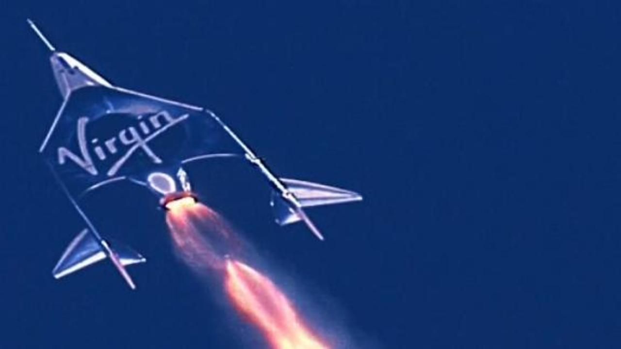 Branson lands safely after rocketing  to outer space
