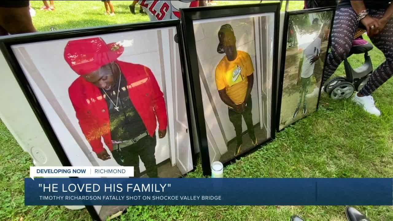 Vigil honors Richmond man killed in I-64 shooting: 'He loved his family'