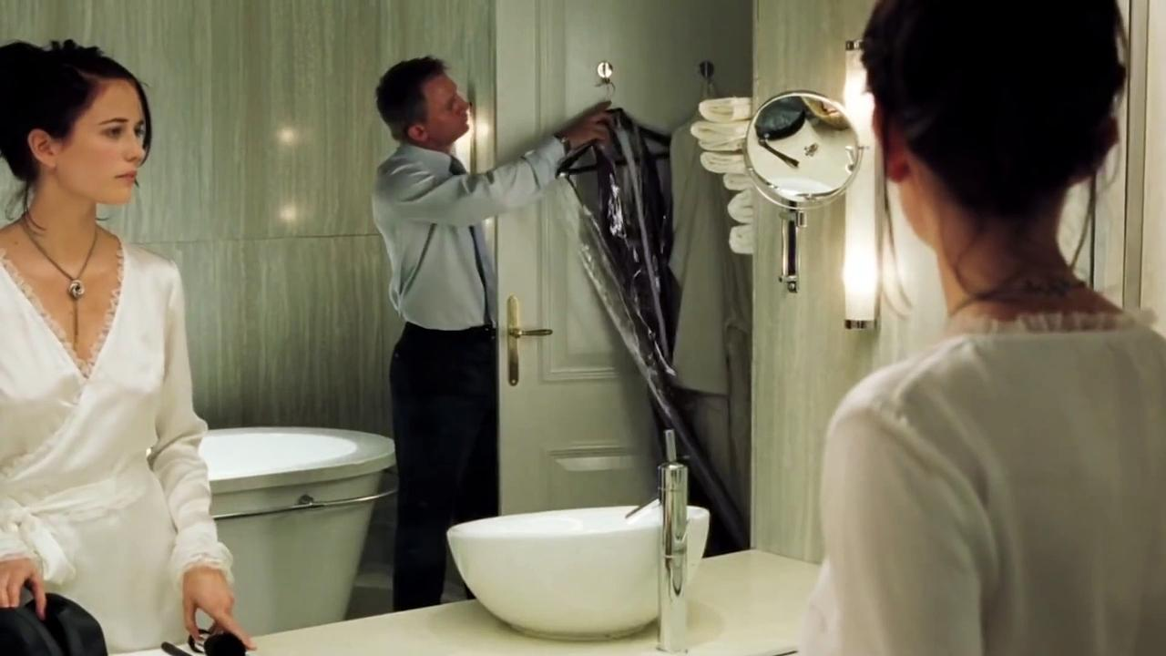 CASINO ROYALE  Movie - James Bond - Clip - Sizing Up 007
