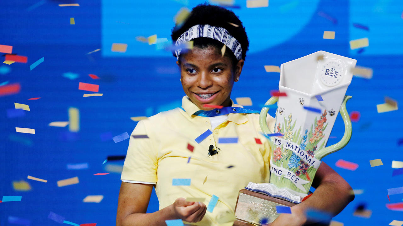 This Teen Is First African American To Win National Spelling Bee