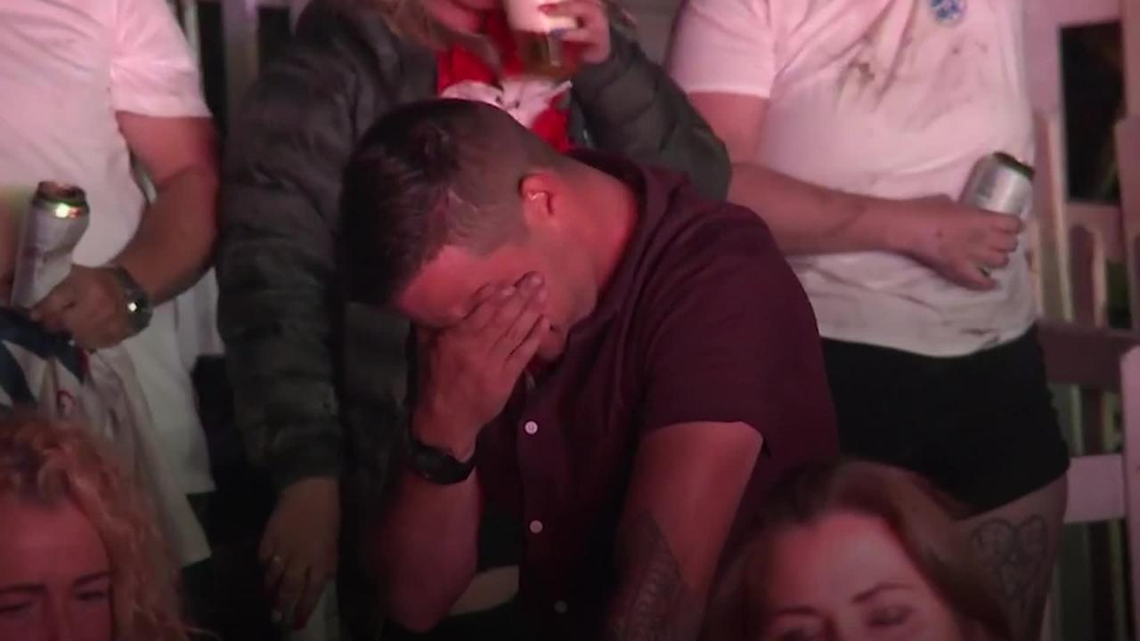 England fans from across the country react to Euro 2020 loss