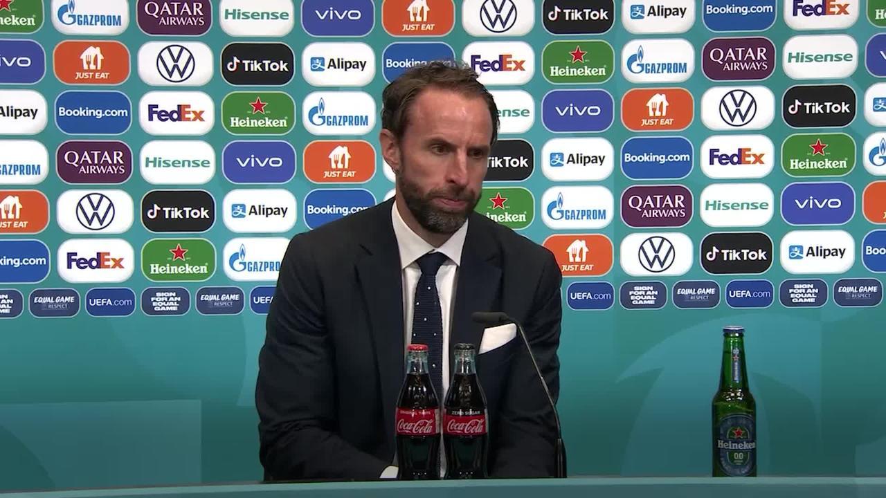 Gareth Southgate takes responsibility for England's penalty heartbreak