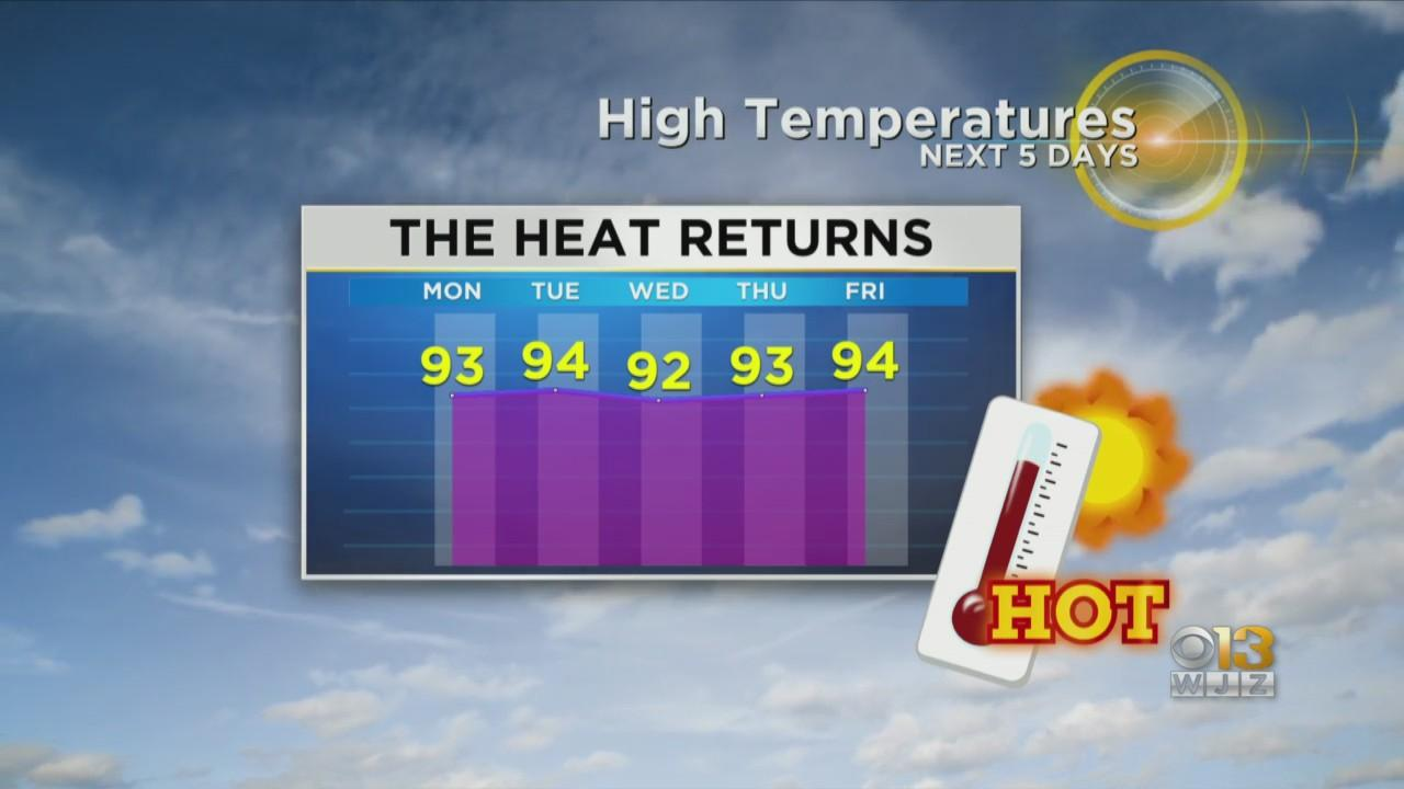 Meteorologist Chelsea Ingram Has Your Sunday Overnight Forecast