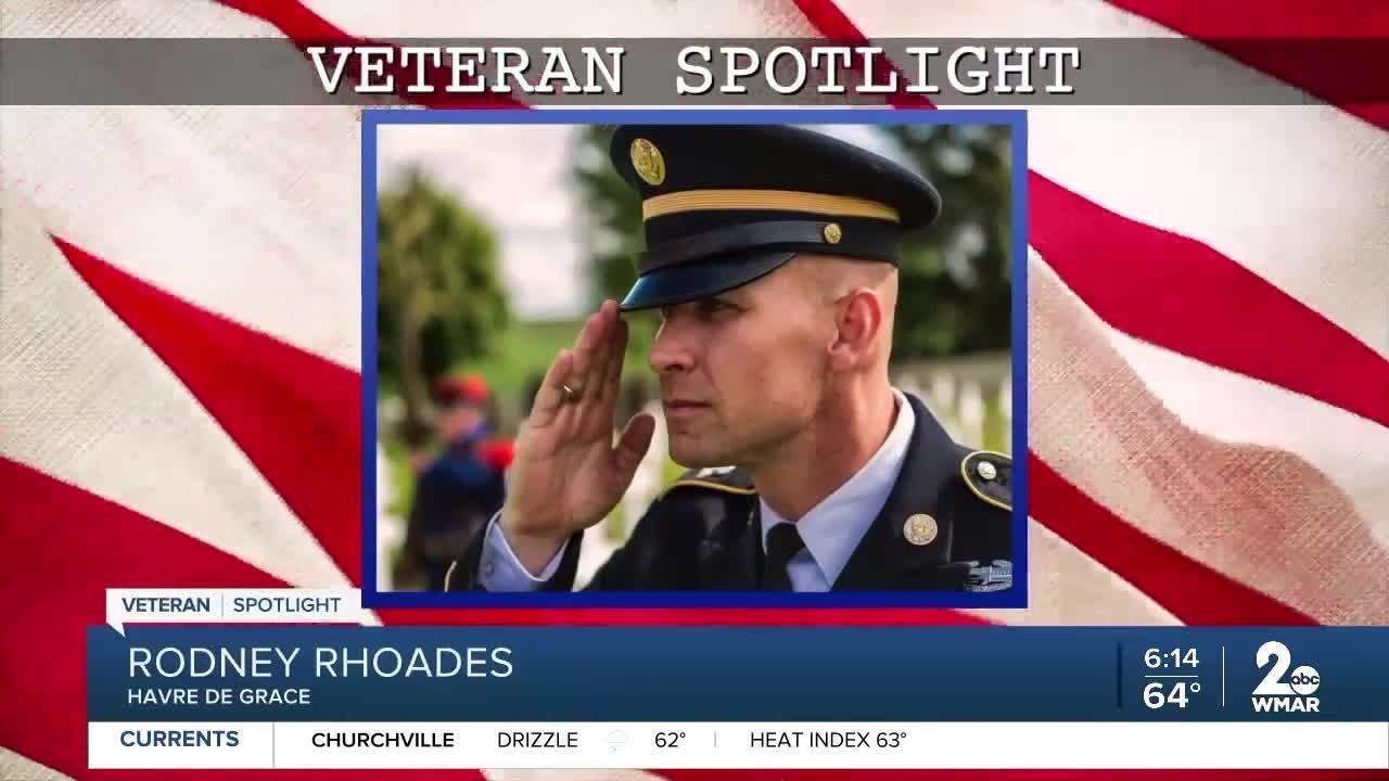 Veteran Spotlight: Rodney Rhoades