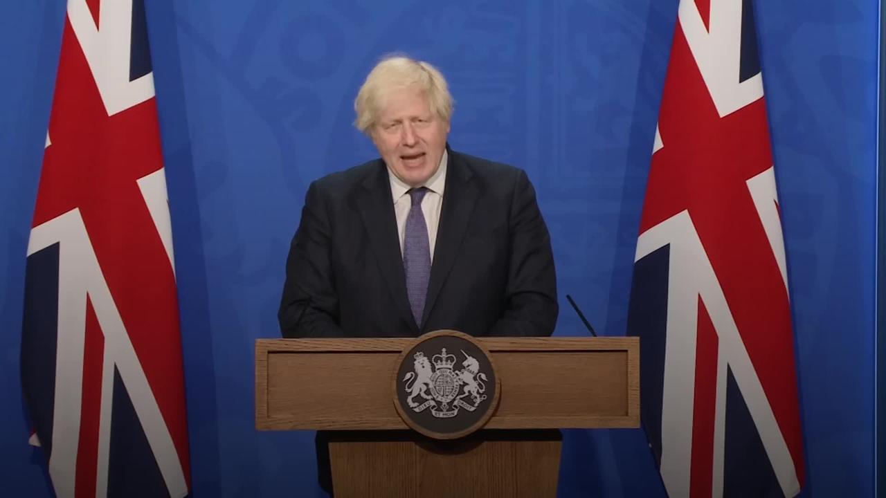 Boris Johnson calls out those who abused England players