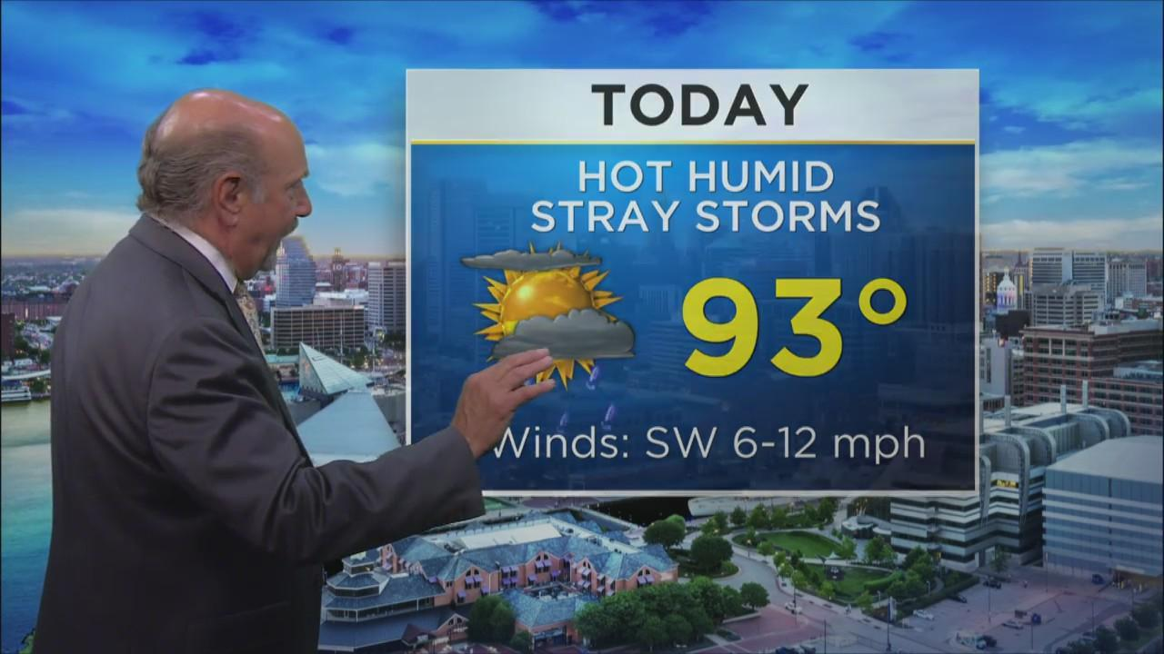Marty Bass Has Your Monday Afternoon Forecast