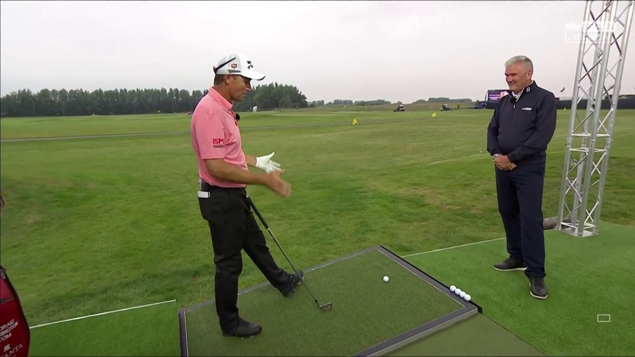 Harrington's golf tips: Slope shots