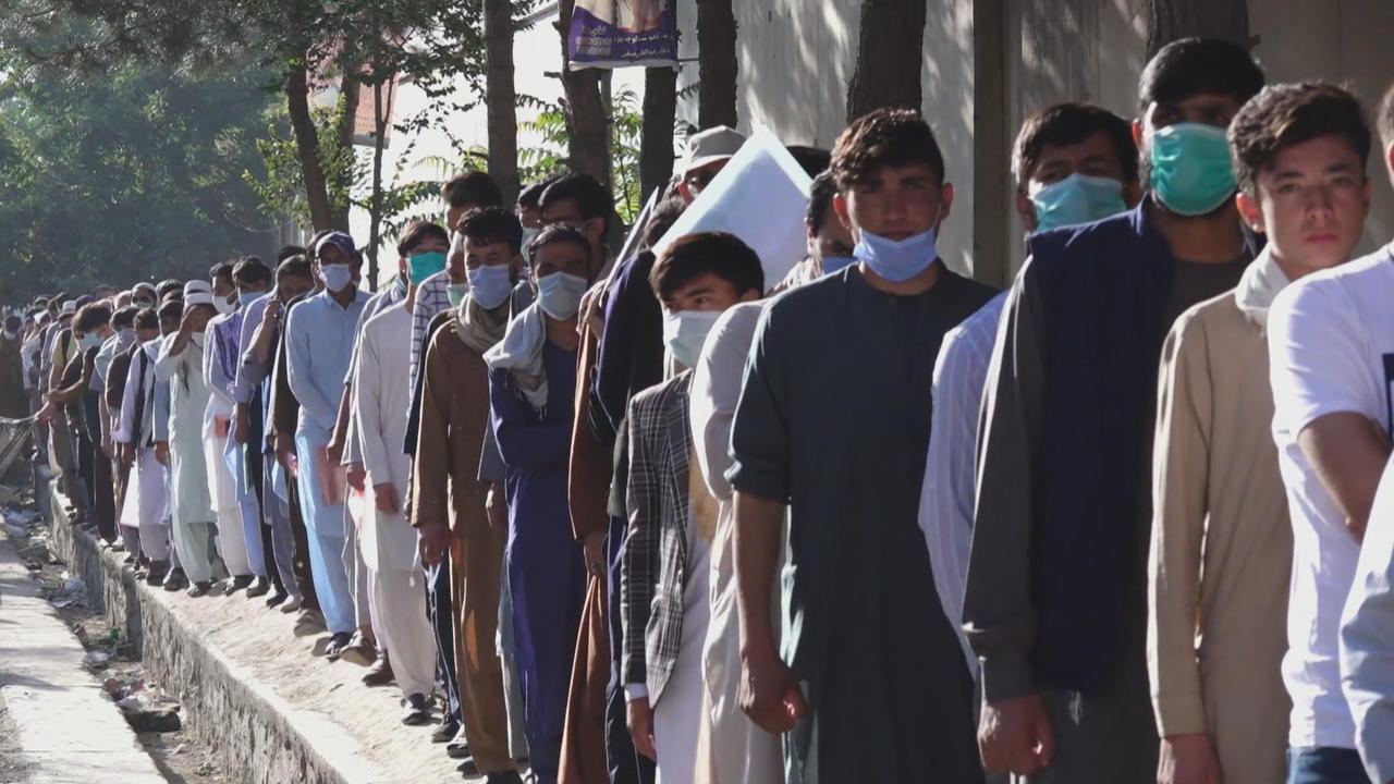 Many Afghan civilians struggling to flee amid Taliban advances
