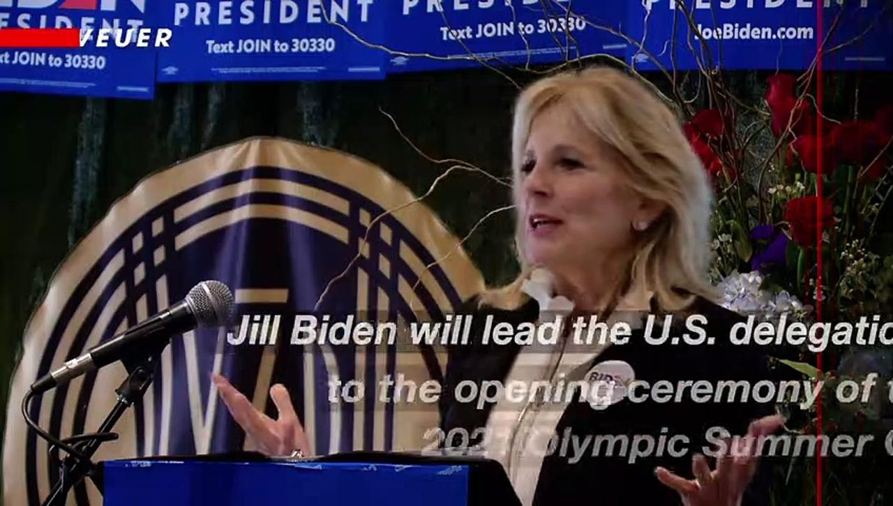 Jill Biden to Lead U.S. Delegation at Opening Ceremony of the 2021 Olympic Summer Games in Tokyo
