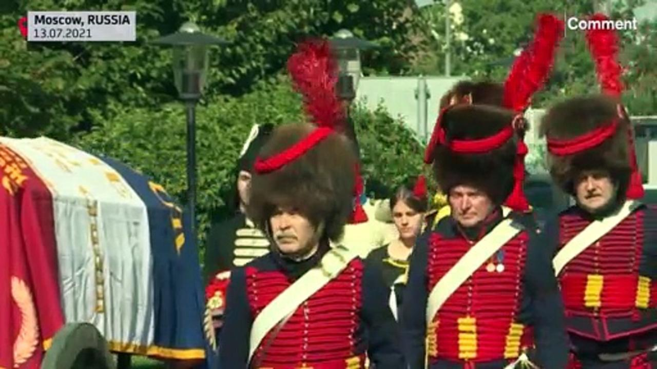 Remains of French general who died in 1812 returned to France