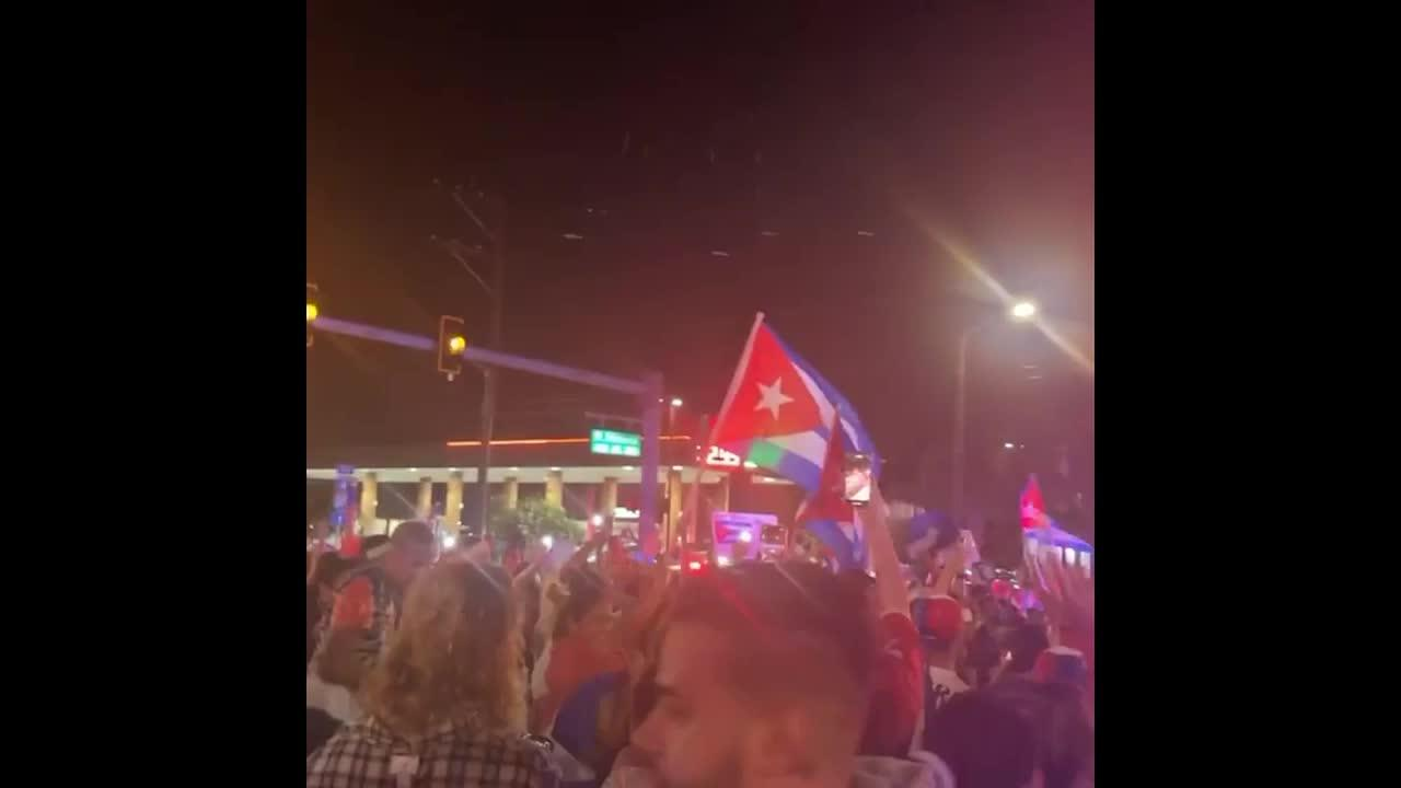 Masses of Floridians take to Tampa Bay streets in solidarity with Cuba's protesters