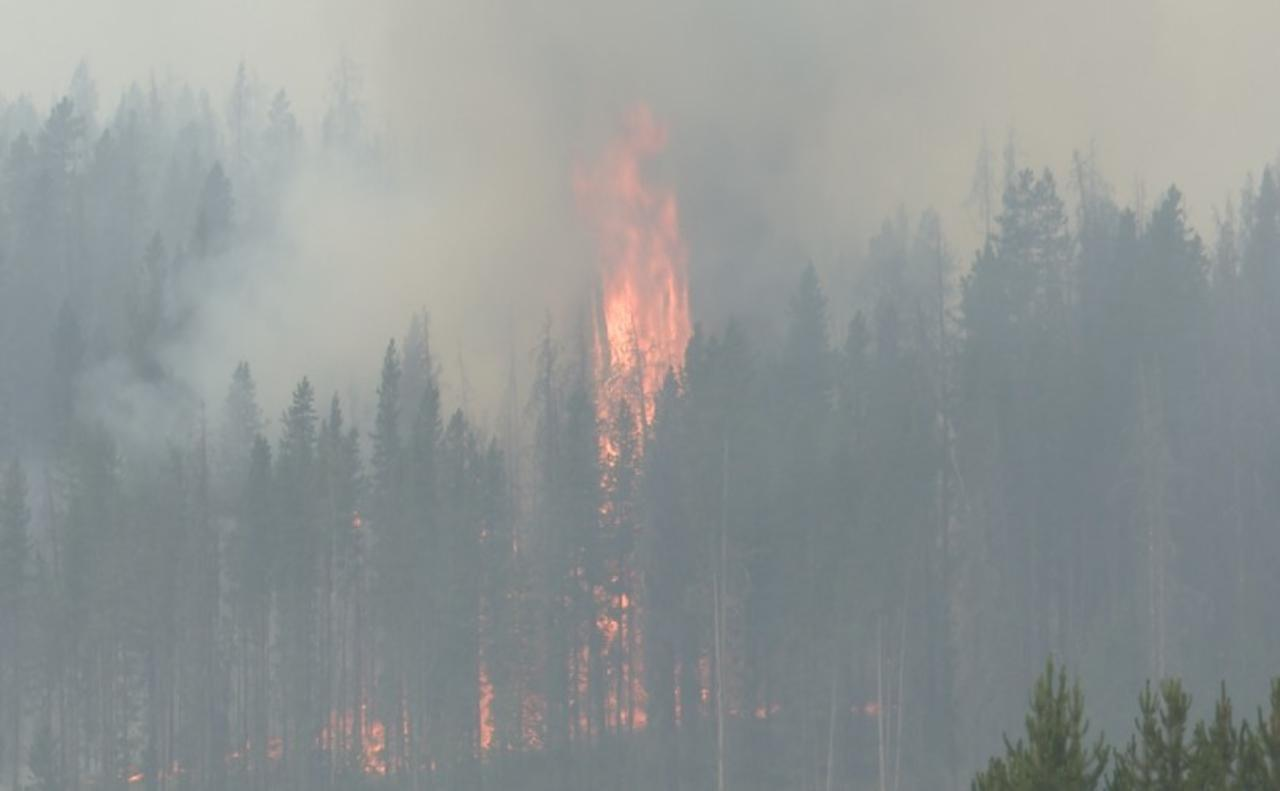 Wildfires near Wise River and Wisdom continue to grow
