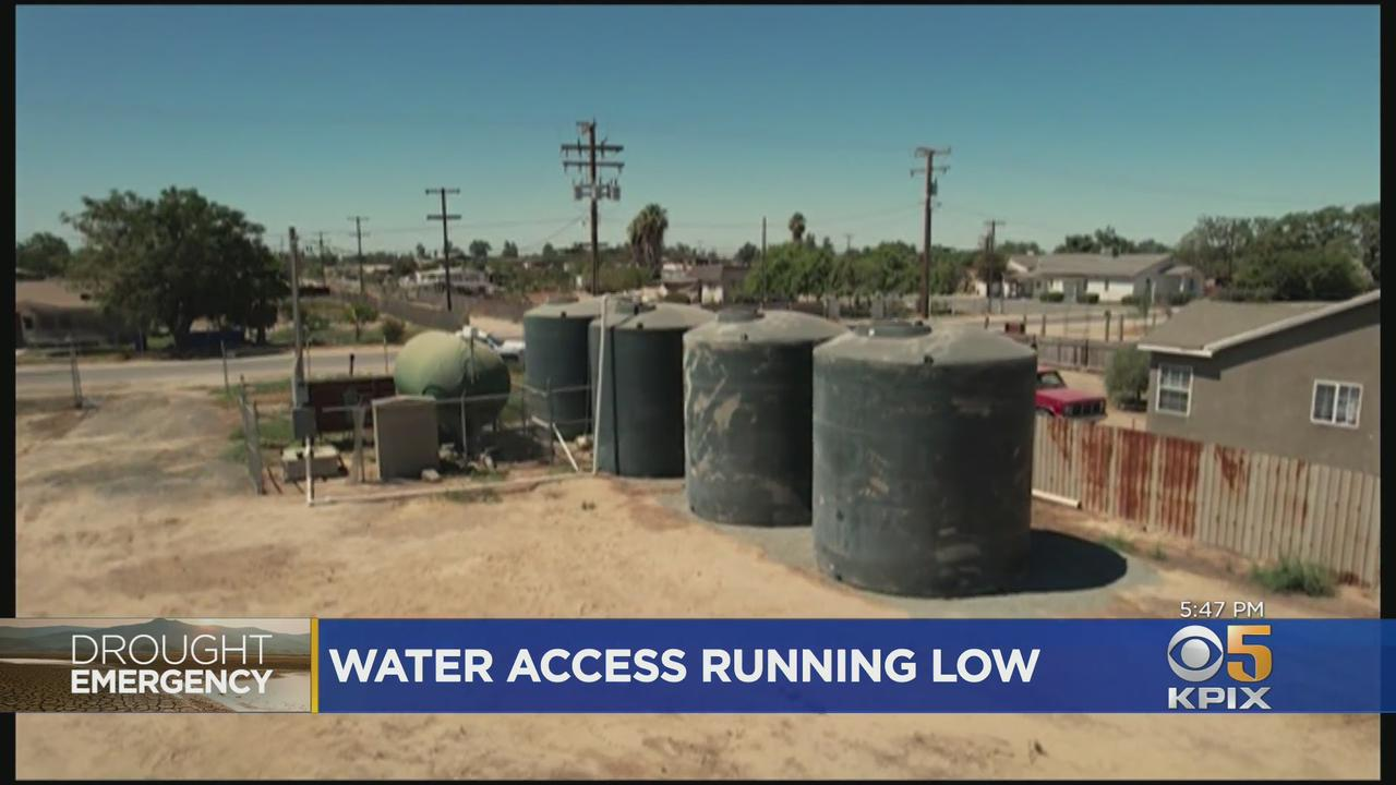 Drought Emergency: Wells Run Dry For Some In Central Valley