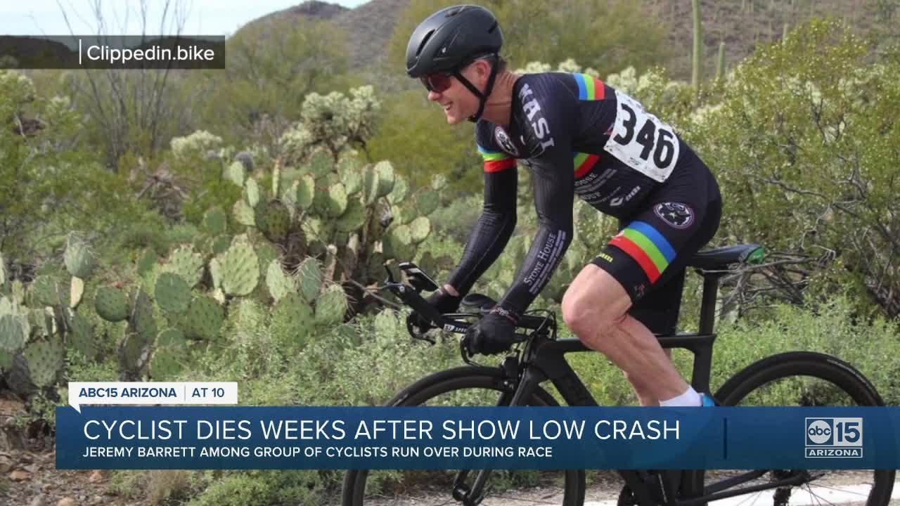 Man dies after driver strikes cyclists during race in Show Low