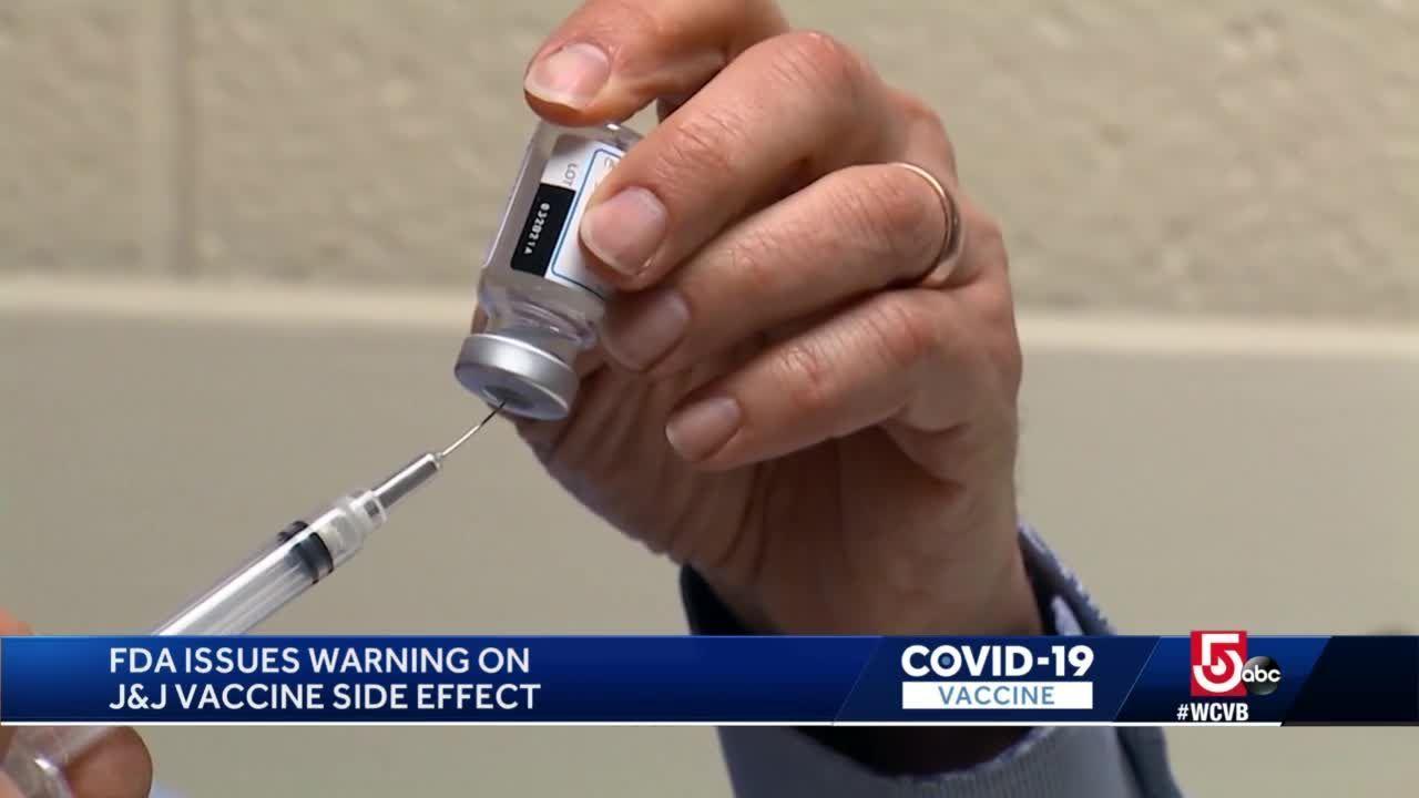 FDA issues warning on Johnson & Johnson COVID-19 vaccine side effect
