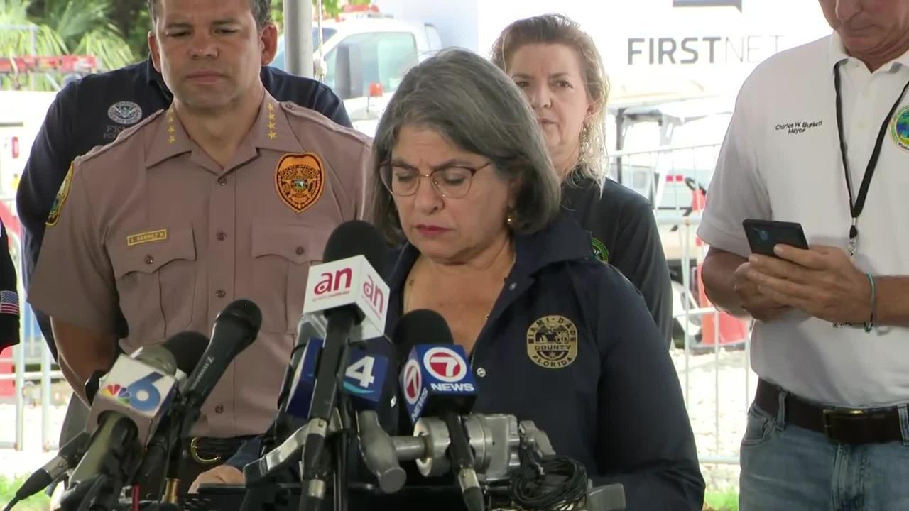 WEB EXTRA: Mayor Daniella Levine Cava Update On Death Toll At Surfside Collapse Site