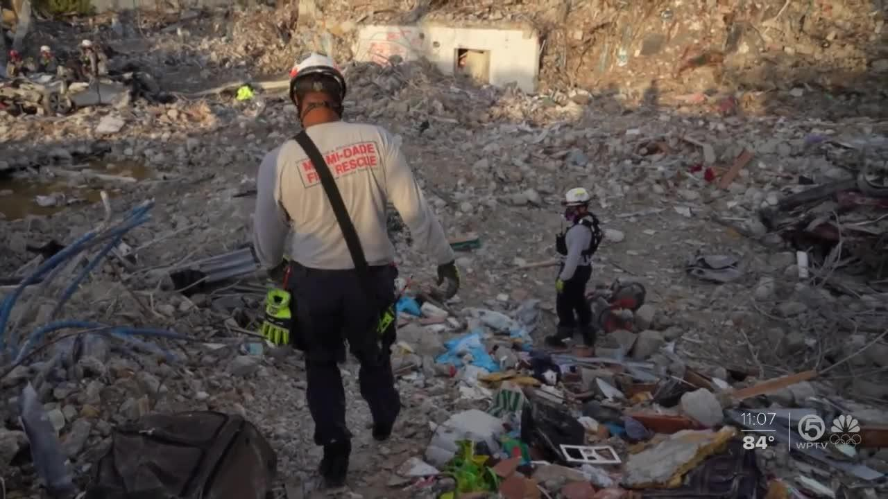 Another victim found in Surfside rubble brings death toll to 95