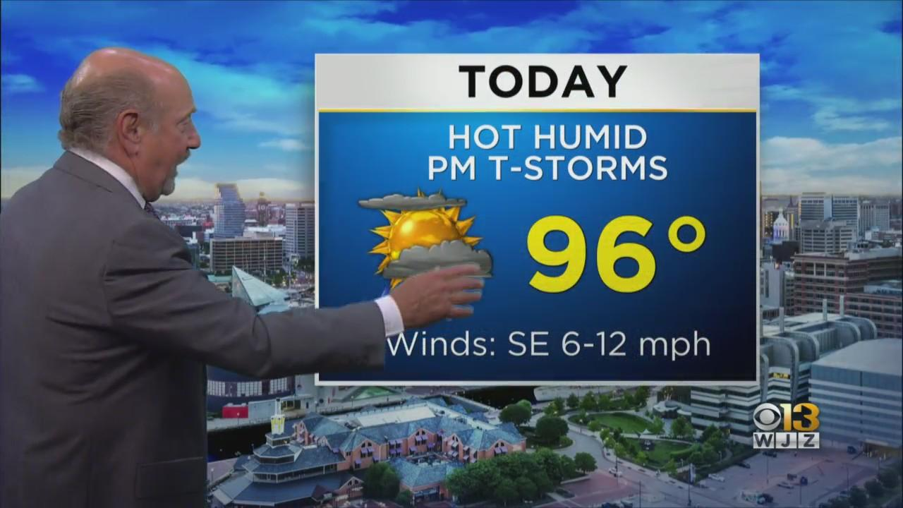 Marty Bass Has Your Friday Afternoon Forecast