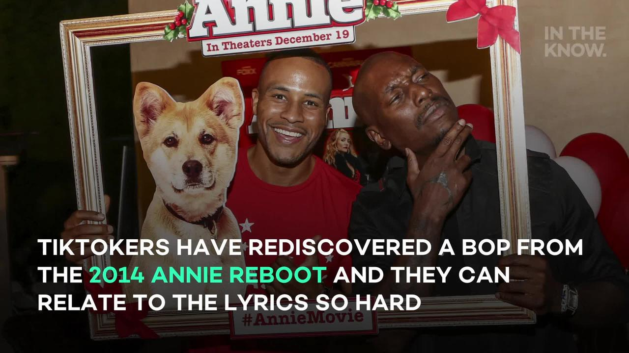 A song from 'Annie' is helping TikTokers express their misery