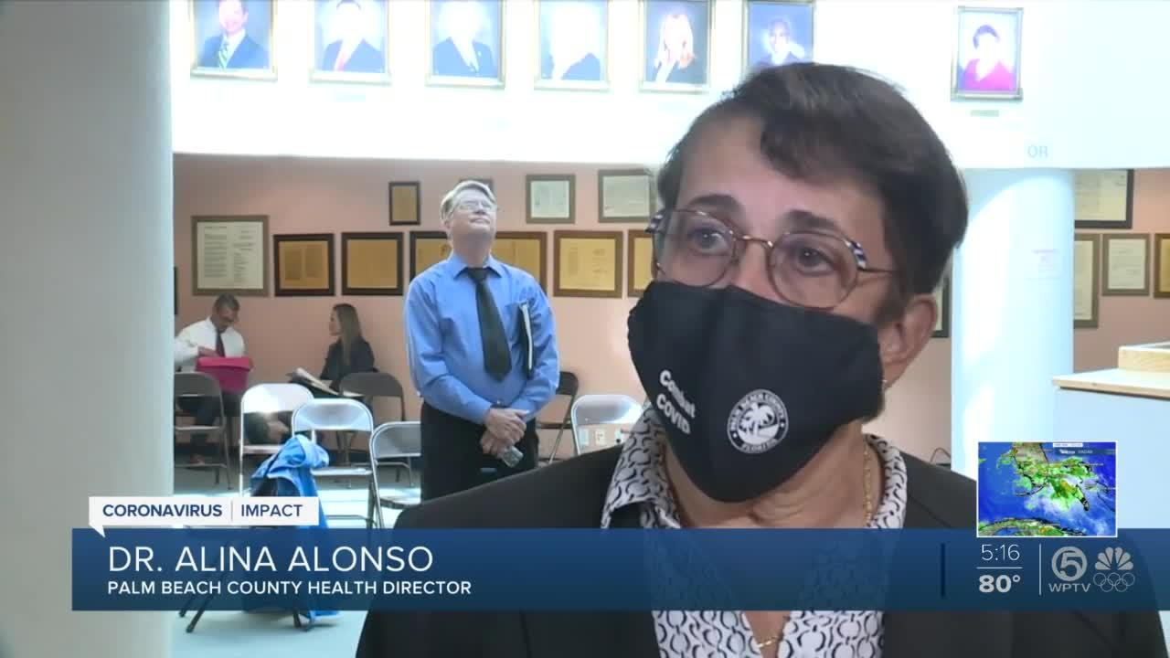Palm Beach County health director 'concerned' with COVID-19 Delta variant, urges vaccinations