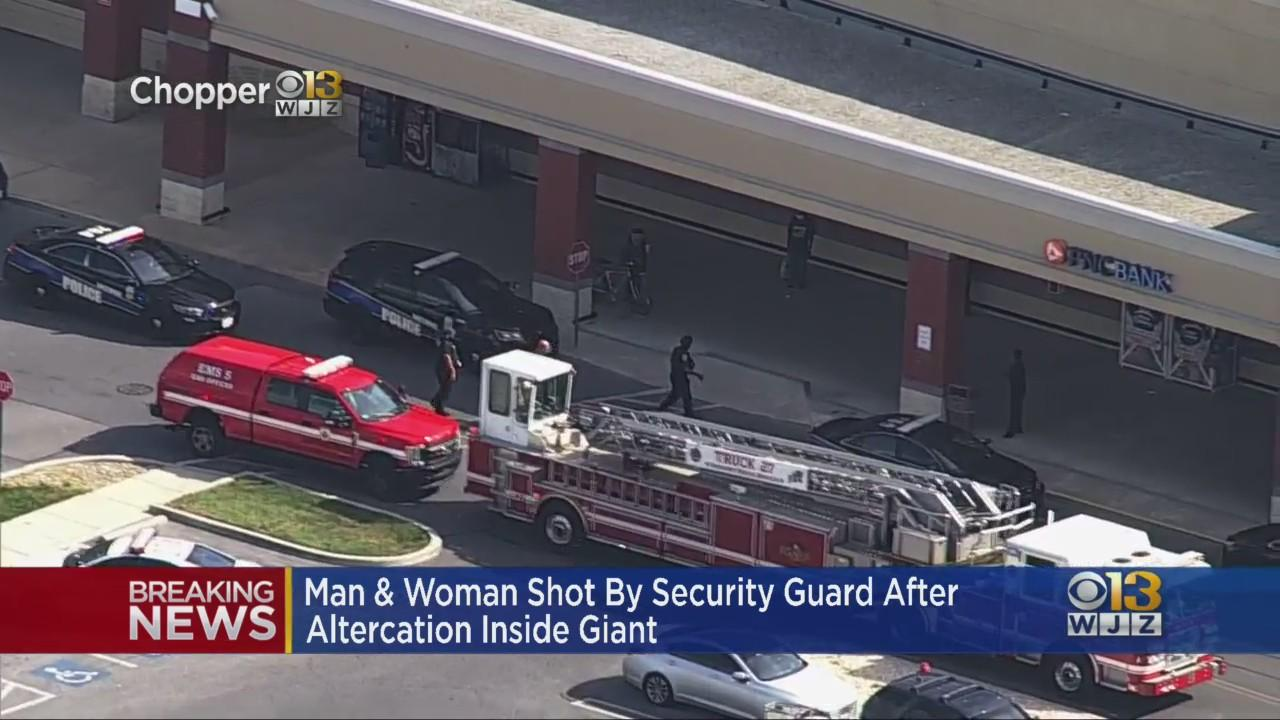 Man Killed, Woman Injured In Double Shooting At Giant Food At Reisterstown Plaza