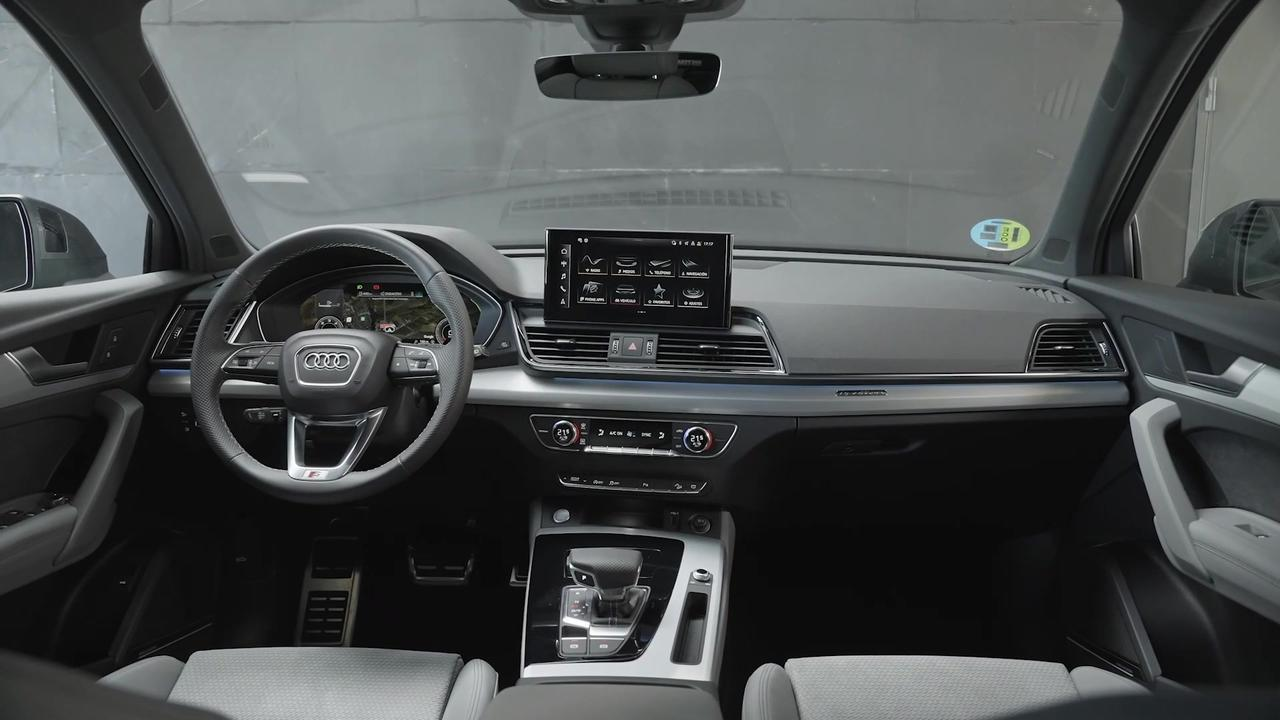 The new Audi Q5 Sportback Interior Design in Spain