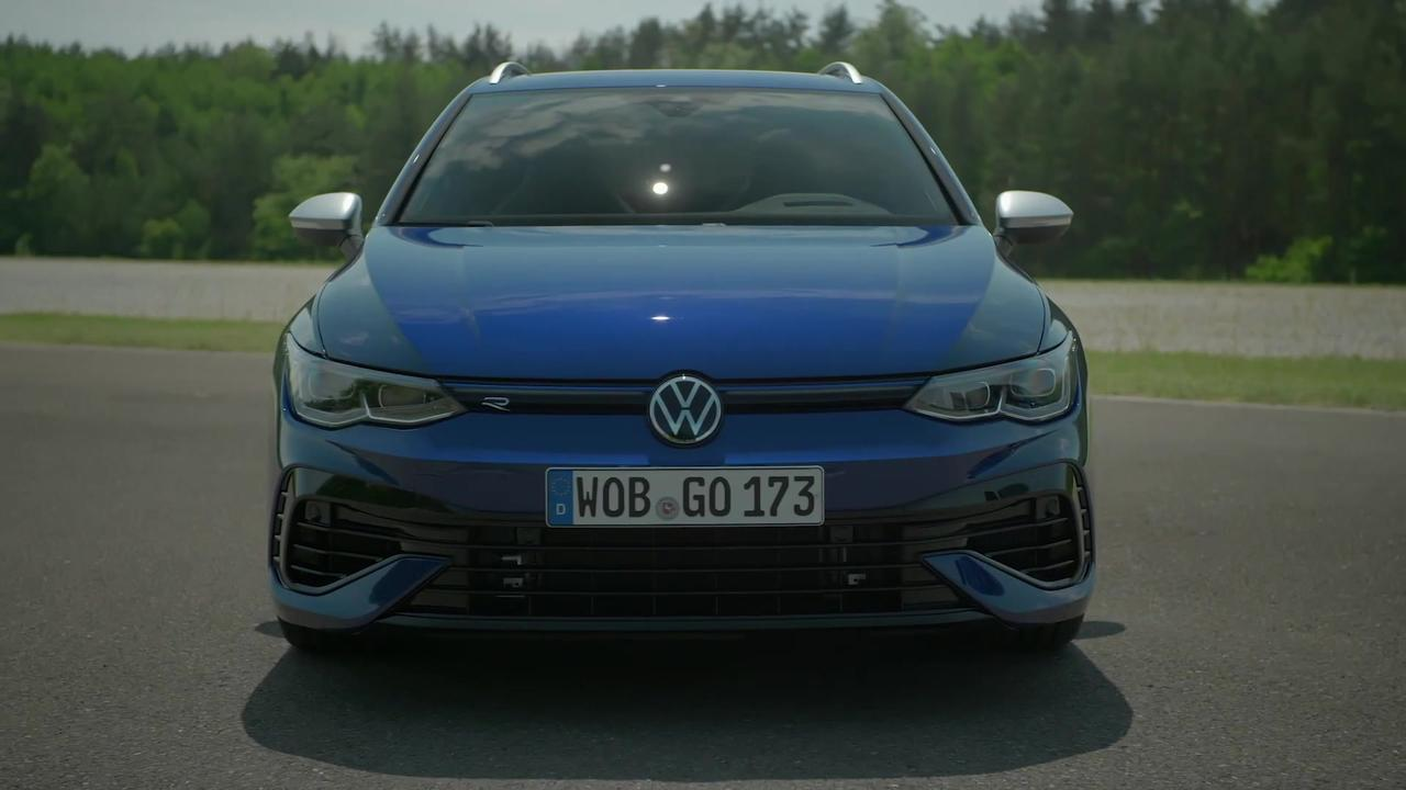The new Volkswagen Golf R Variant Design Preview