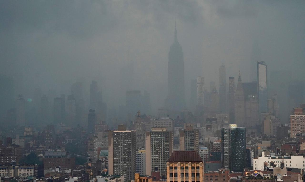 New York City hit by extreme weather, flooding subways and streets