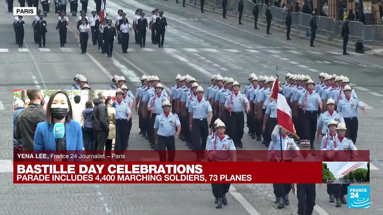 France's Bastille Day parade takes place in the shadow of Covid-19