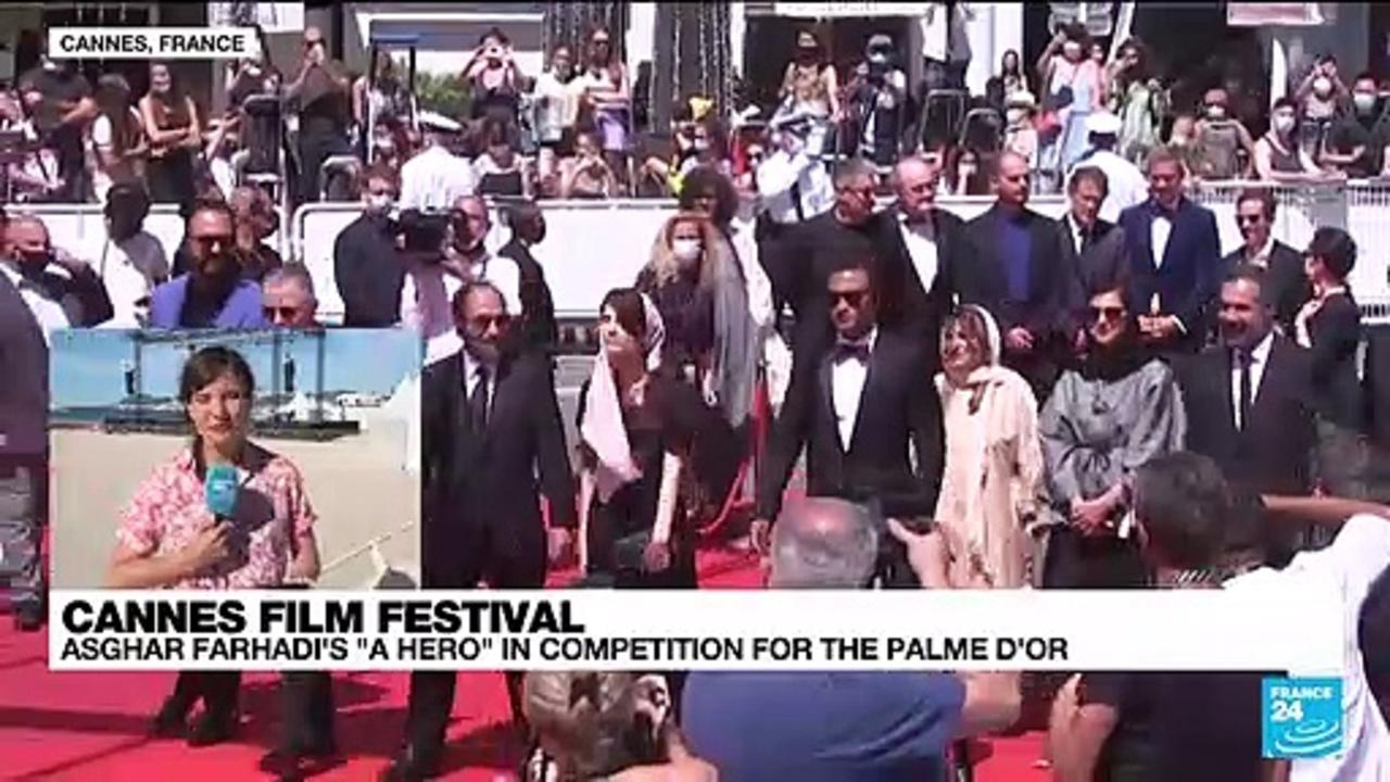 Asghar Farhadi's 'A Hero' in competition for the Palme d'or at the Cannes Film Festival