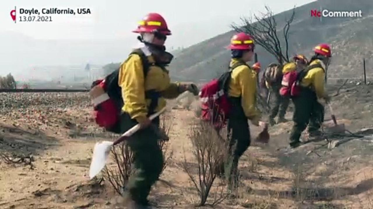 Small town in N. Caifornia devasted by wildfire
