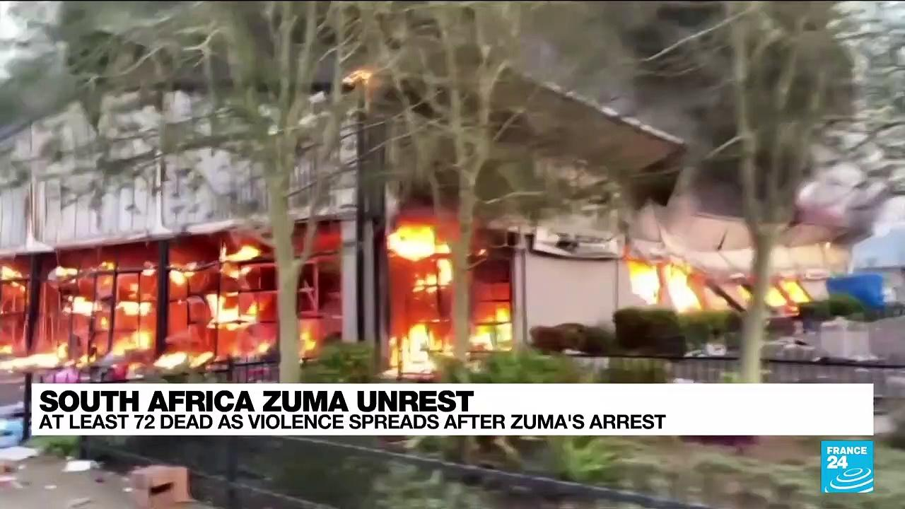 South Africa unrest prompts fears of food and fuel shortages