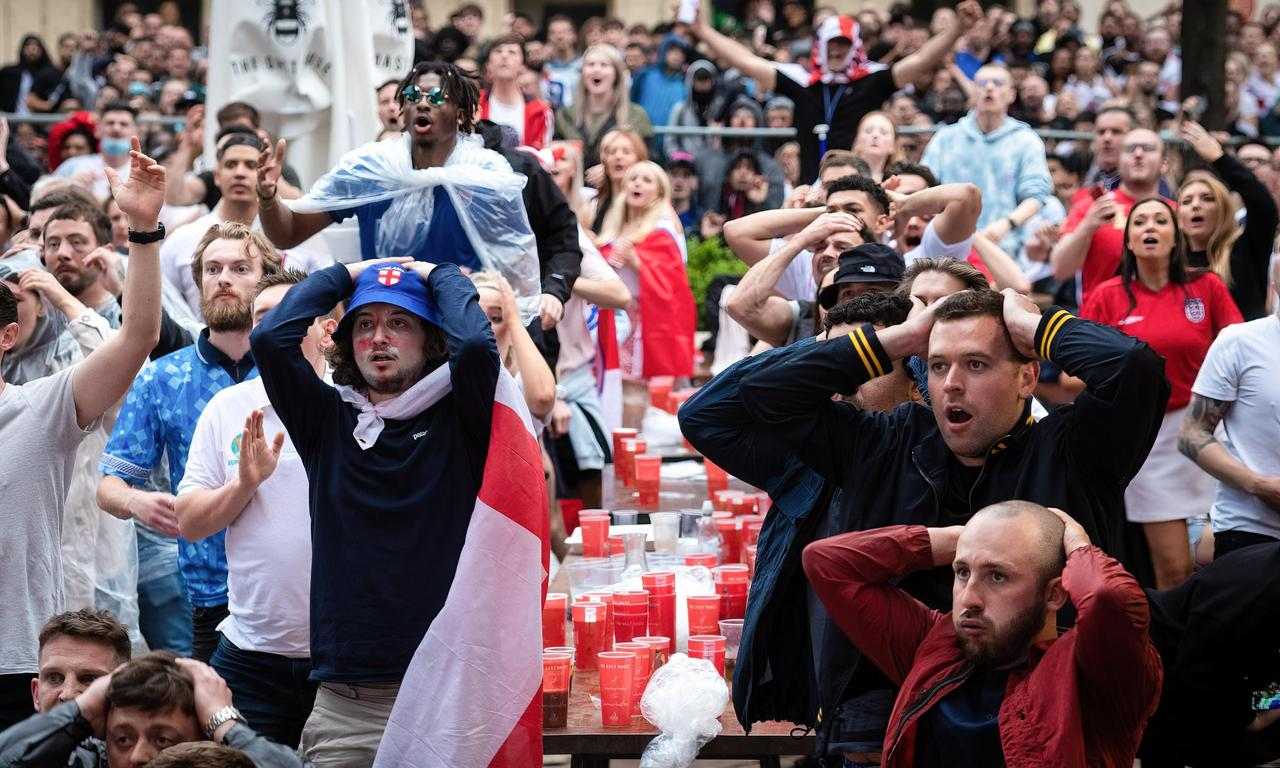 'Absolutely gutted': England fans crushed after Italy win Euro 2020