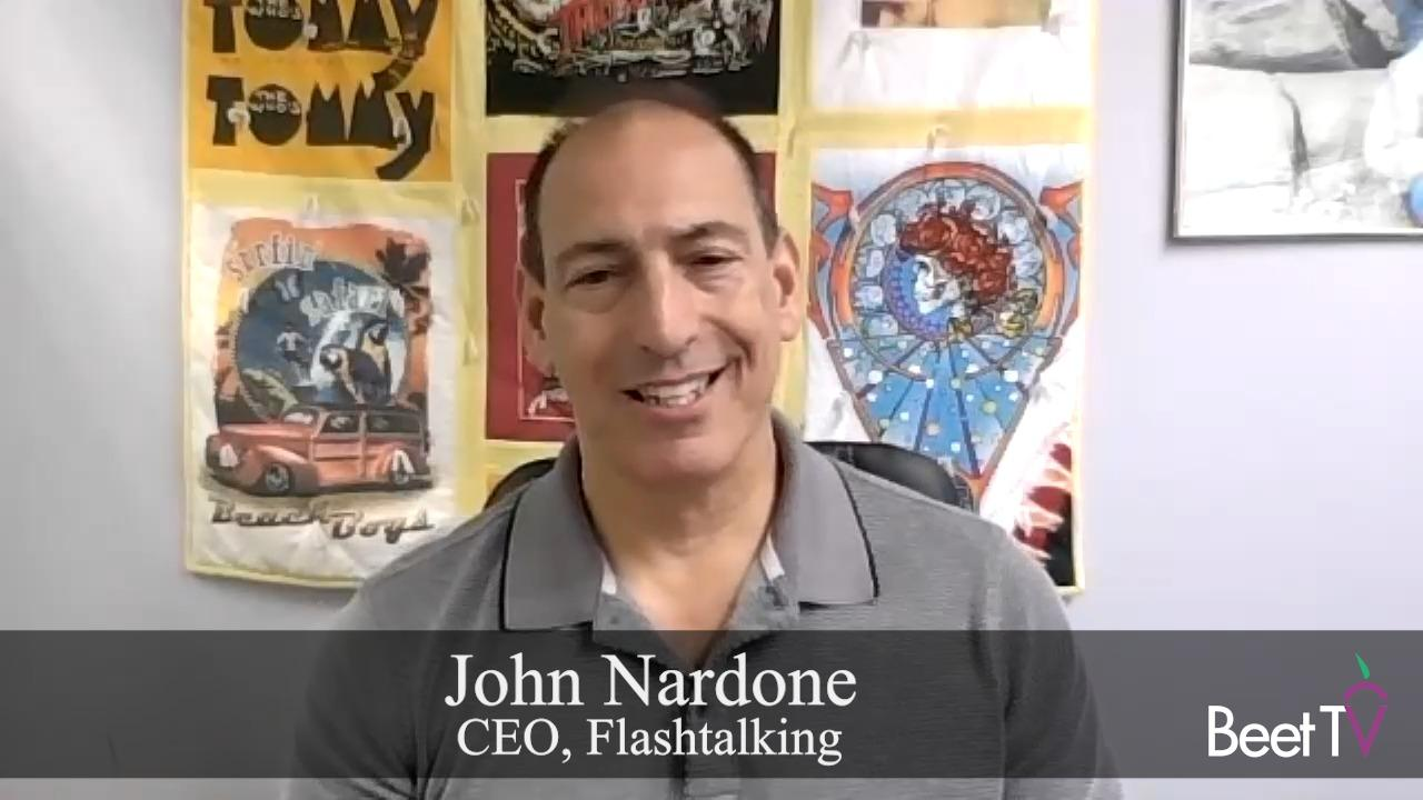 Sold to Meidaocean for $500 Million: Flashtalking Gives Advertisers Independence From Walled Gardens: CEO Nardone