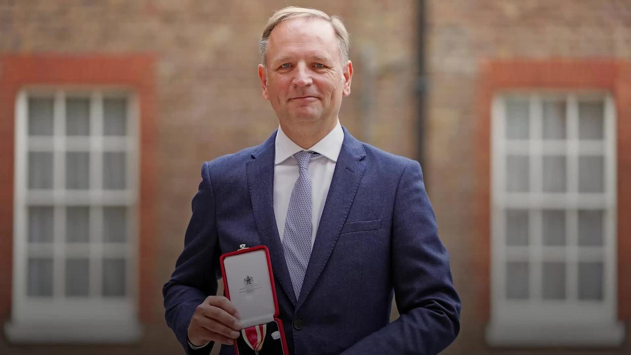NHS chief executive receives knighthood