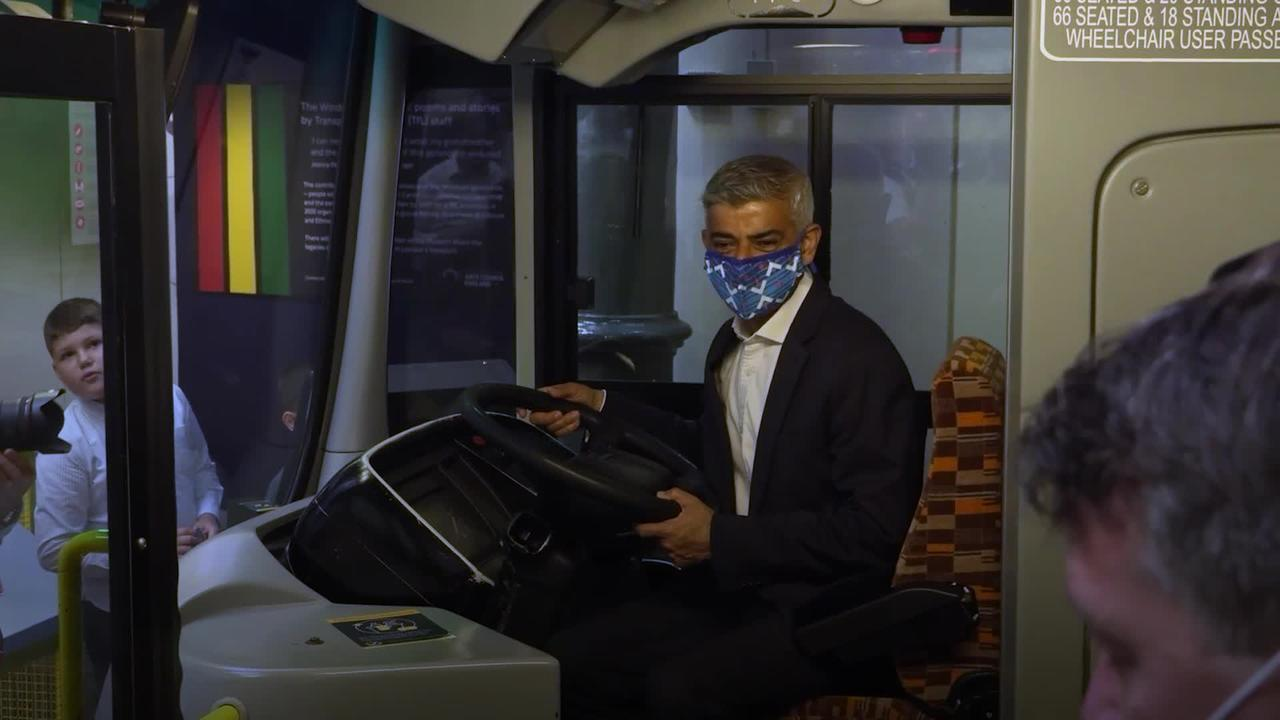 Masks will remain compulsory on public transport in London, Khan