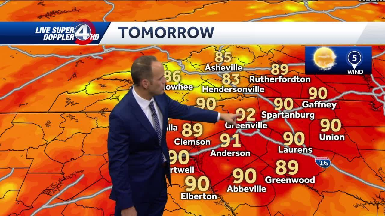 Chances of afternoon thunderstorms increase