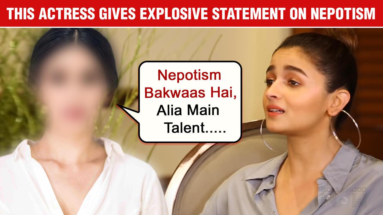 Ajay Devgn's This Co-Star Drags Alia Bhatt In Nepotism Debate   Shocking Statement