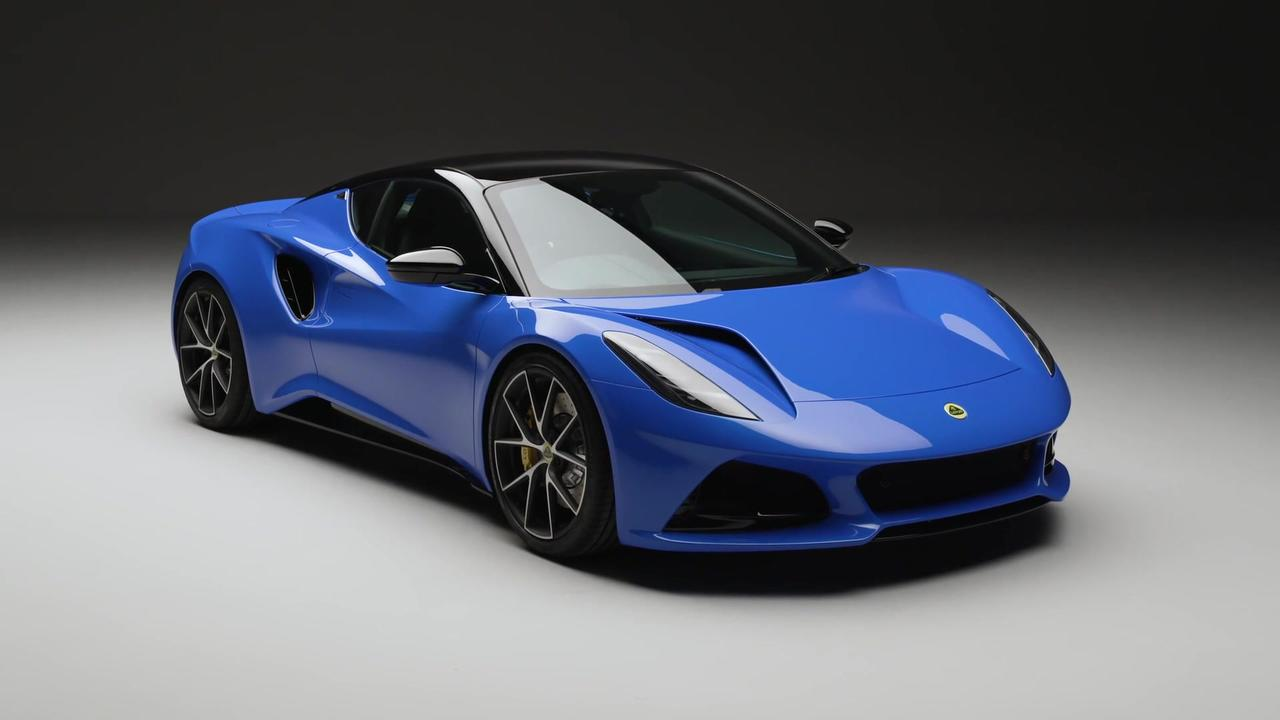 The new Lotus EMIRA Design Preview