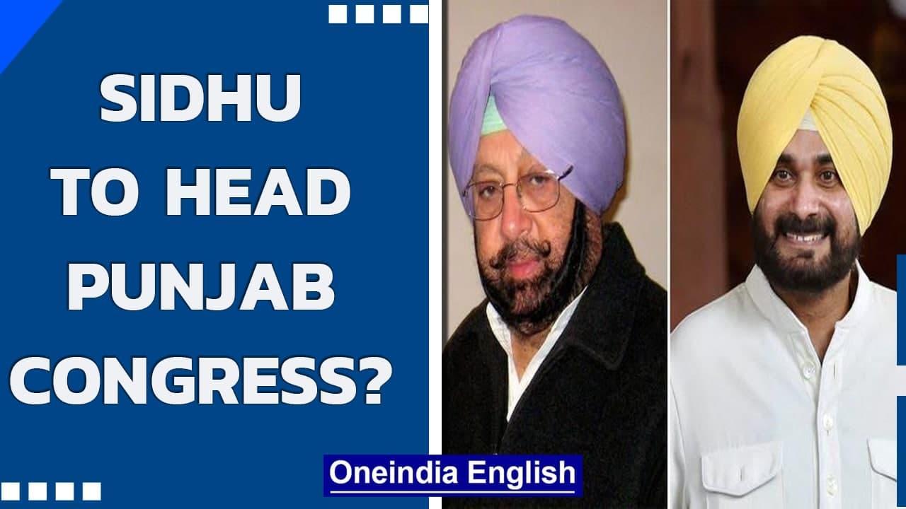 Punjab: Captain Amarinder to remain Punjab CM, Sidhu to head state Congress  Oneindia News