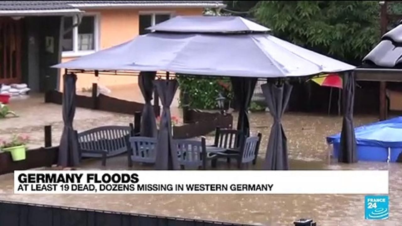 At least 19 dead in Germany as storms lash Europe