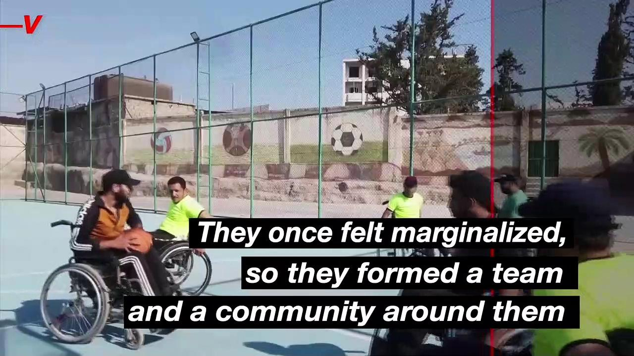 Syrians Injured During War Play Basketball on Wheelchairs and Hope To Play Internationally Someday