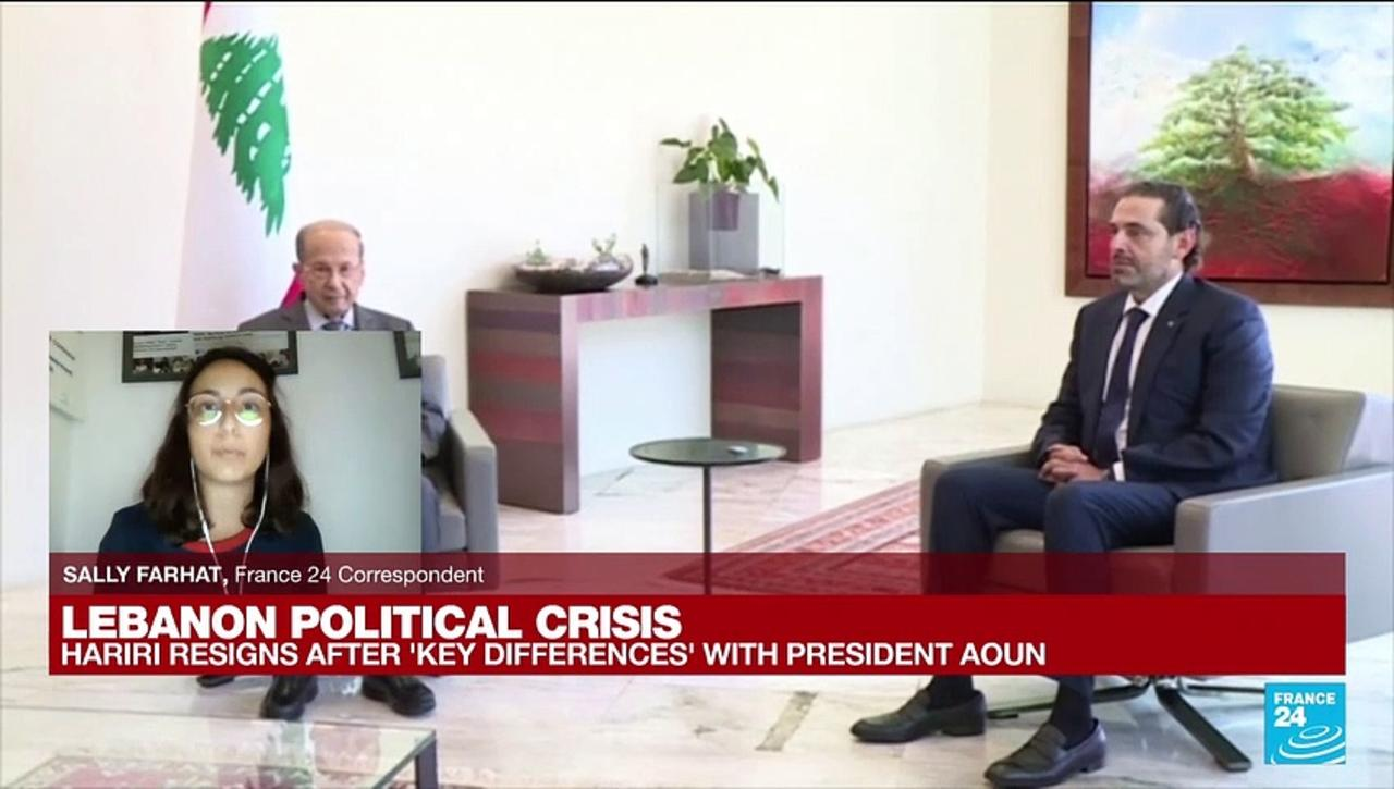 Lebanon's Prime Minister designate Saad Hariri resigns
