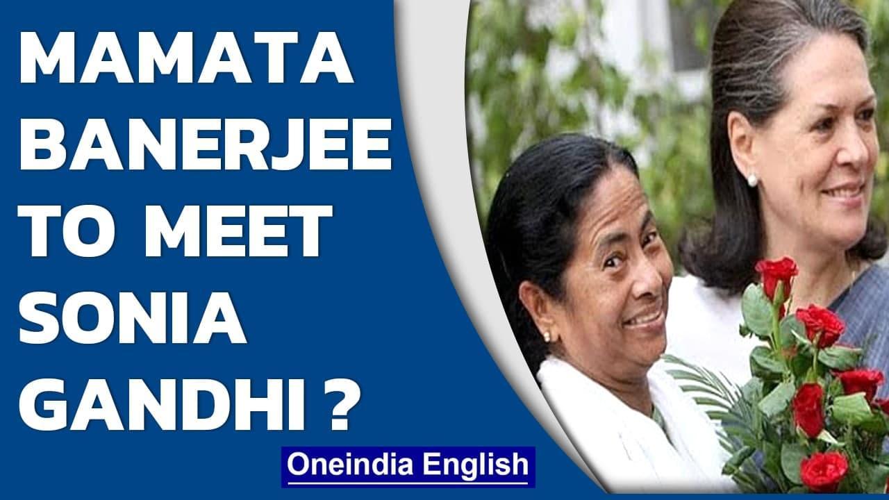 Mamata Banerjee plans trip to meet Sonia Gandhi in the National Capital| Oneindia News