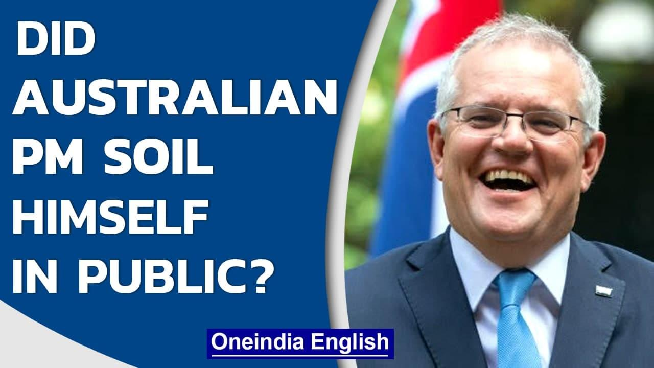 Australian PM Scott Morrison dismisses rumour of him soiling himself at McDonald's   Oneindia News