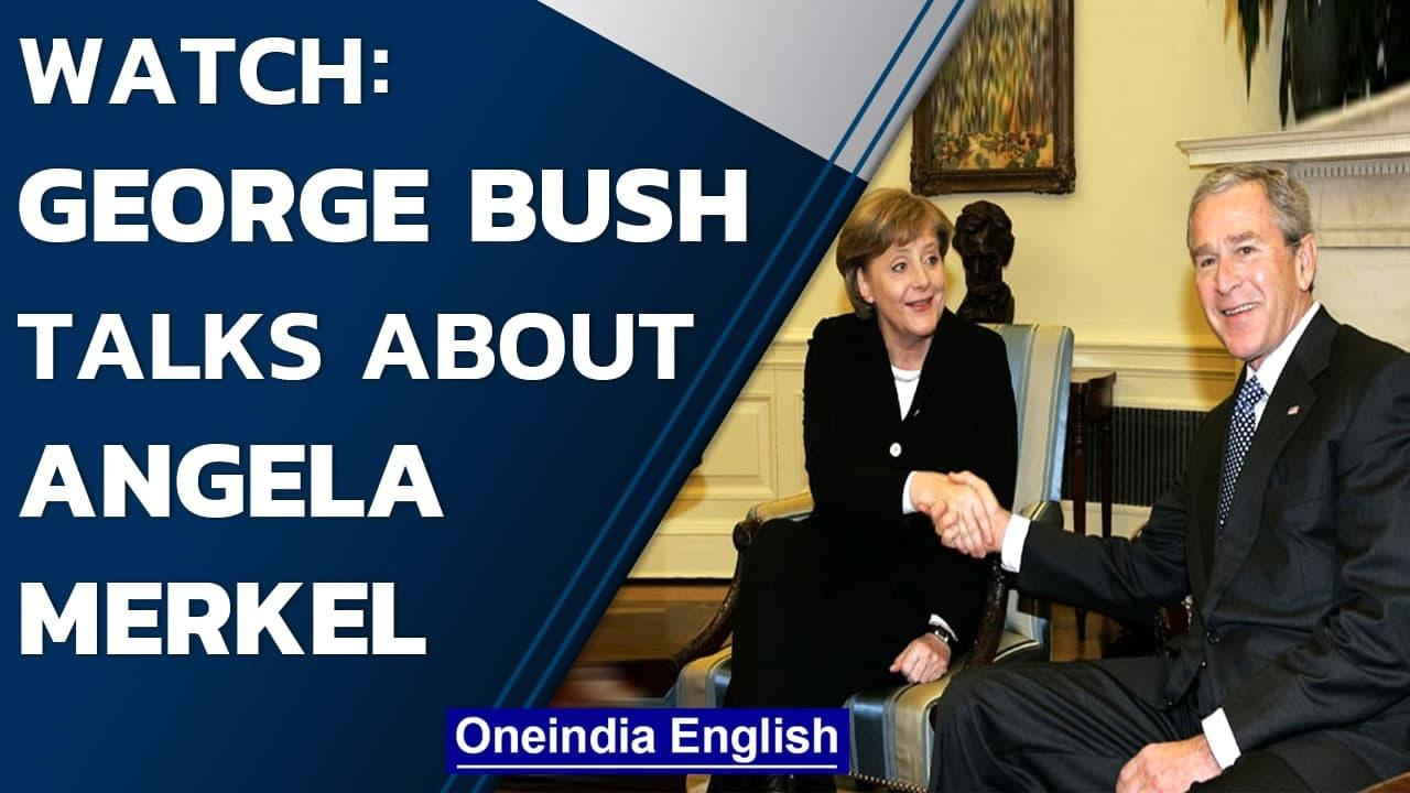 Exclusive DW interview: George W. Bush reflects on Chancellor Merkel's legacy   Oneindia News