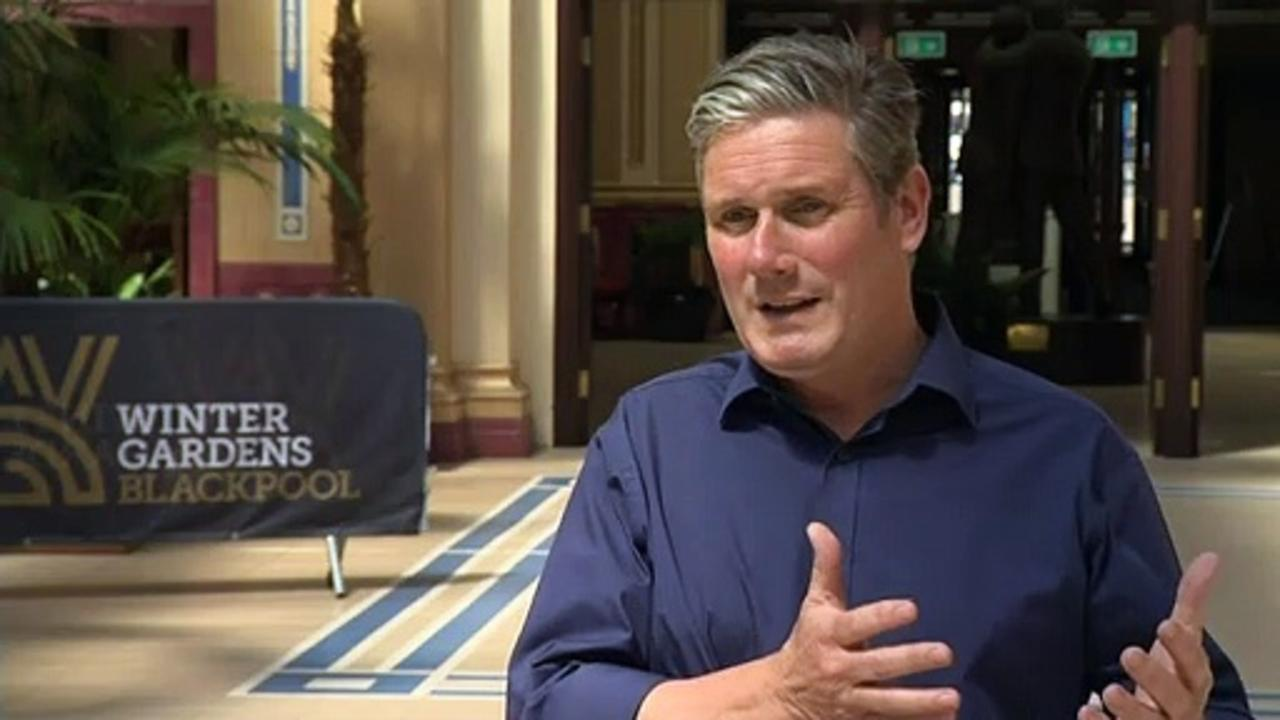 Starmer: There's no substance to PM's 'levelling up' plan