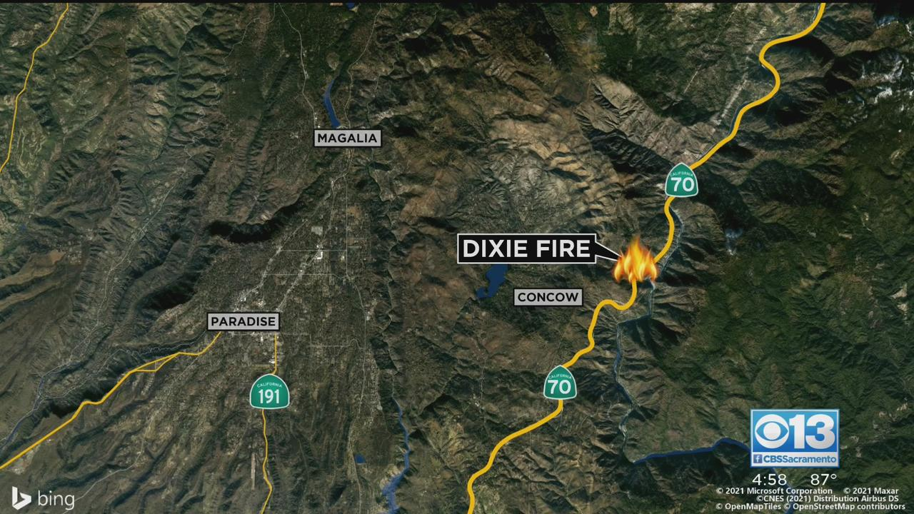 Could Camp Fire Burn Scar Help With Fast-Growing Butte Wildfire?