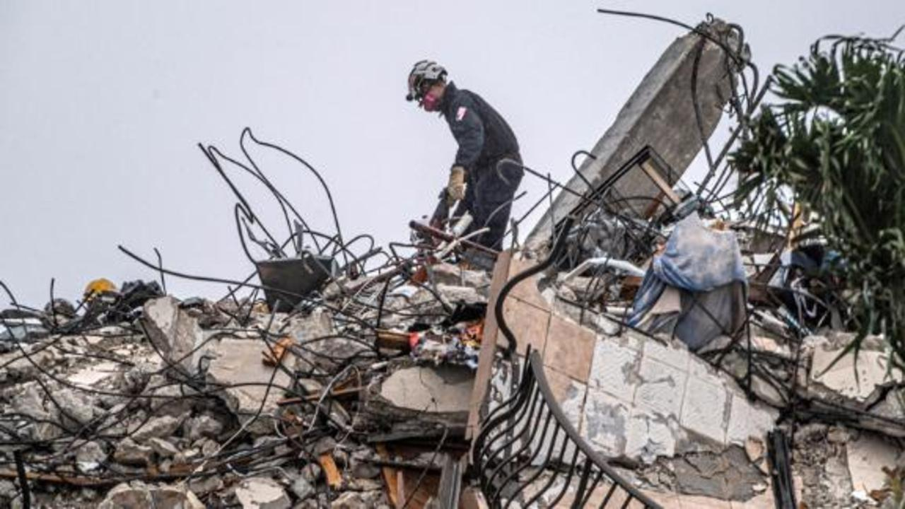 Officials release new 911 audio from moments after deadly condo collapse