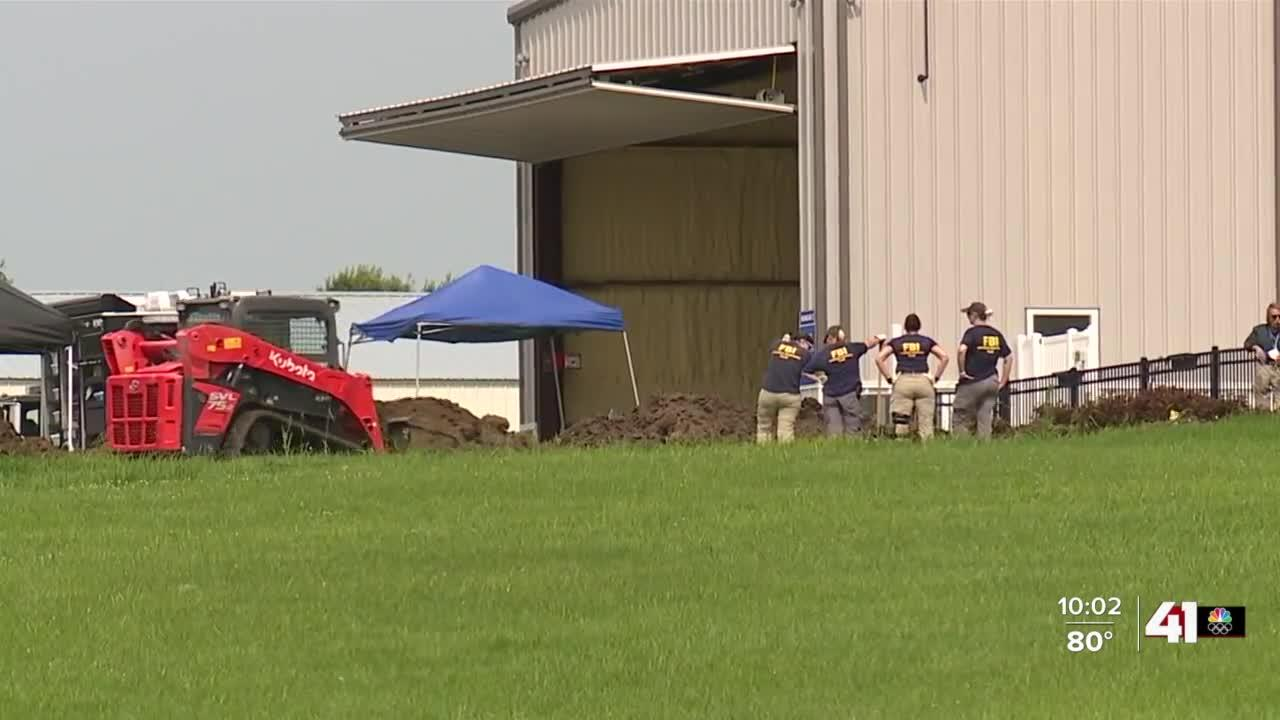 Human remains located on Grain Valley property